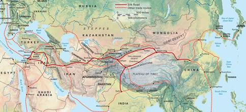 The old New Silk Road